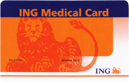 ING medical card